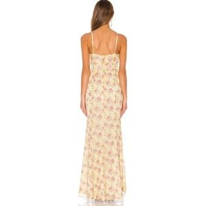 MAJORELLE Dresses - Majorelle Paisley Dress Yellow Maxi